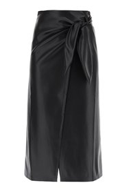 Amas Faux Leather Skirt