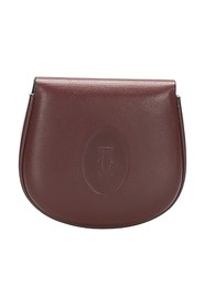 Must de Cartier Leather Coin Pouch