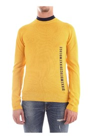 BIKKEMBERGS CSG4411X1316 JERSEY Men YELLOW