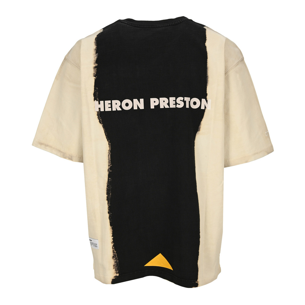 Black T-Shirt | Heron Preston | T-shirts print | Herenkleding