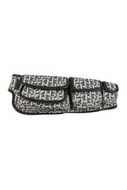 Courier waist bag in jacquard