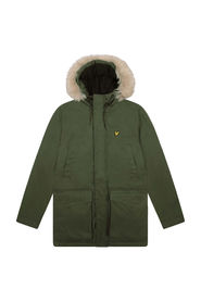 Parka Jacket With Winter Weight Microfleece Lining