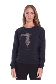 CREW NECK SWEATSHIRT WITH LOGO