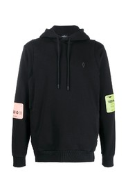 county of milan - techno patch hoodie