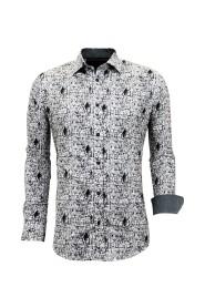 Luxe Strijkvrije Overhemden  -  Digitale Print - 3051