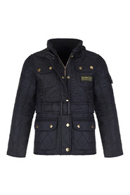 Barbour International Polarquilt Kids Svart