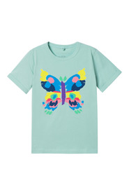 T-shirt Painted Butterfly
