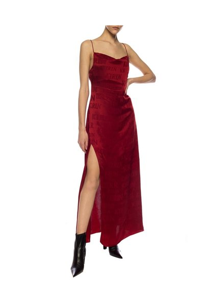 Kirin Red Dress With Logo Feestjurken - Rood kPEZjTo