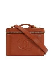 Vintage Vanity CC Logos Jumbo 2way Cosmetic Bag