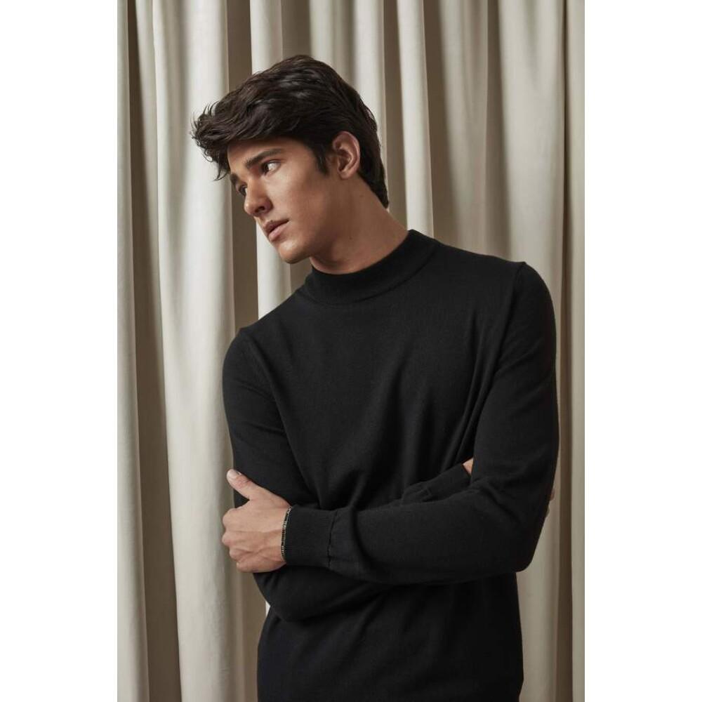 Black Martin Sweater | NN07 | Strickpullover | Herrenbekleidung