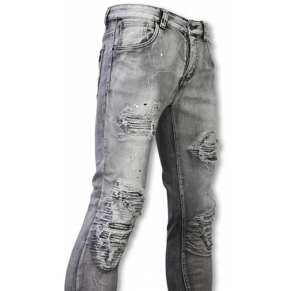 Exclusieve Jeans - Slim Fit Ripped Premium Jeans