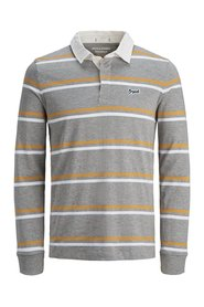 Polo Shirt Striped long-sleeved