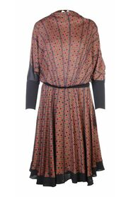 Pre-owned Checked Top & Skirt Set