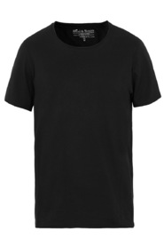 Bread & Boxers Crew Neck Relaxed Black T-Shirt