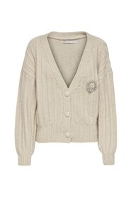 Farah Cropped Cardigan