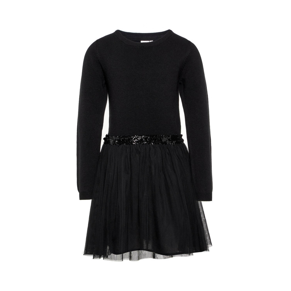 KIDS NKFRALUKKA LS KNIT DRESS