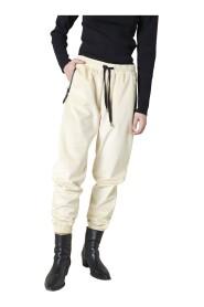 Pantaloni sportivi con lacci a contrasto