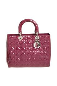 Pre-owned Cannage Patent Leather Tote
