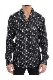 Silk JAZZ Print Casual Shirt