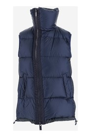 Down-filled gilet