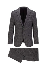 Two-Piece Patterned Suit