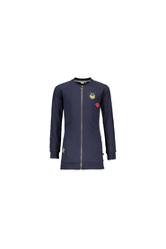 FLO Sweat long zipper c F708-5319