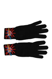 Loves London Embroidered Wool Gloves