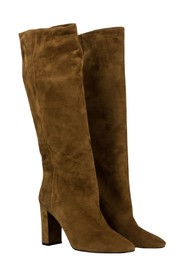 High boots in rodeo suede