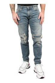 Relaxed Underwork Denim