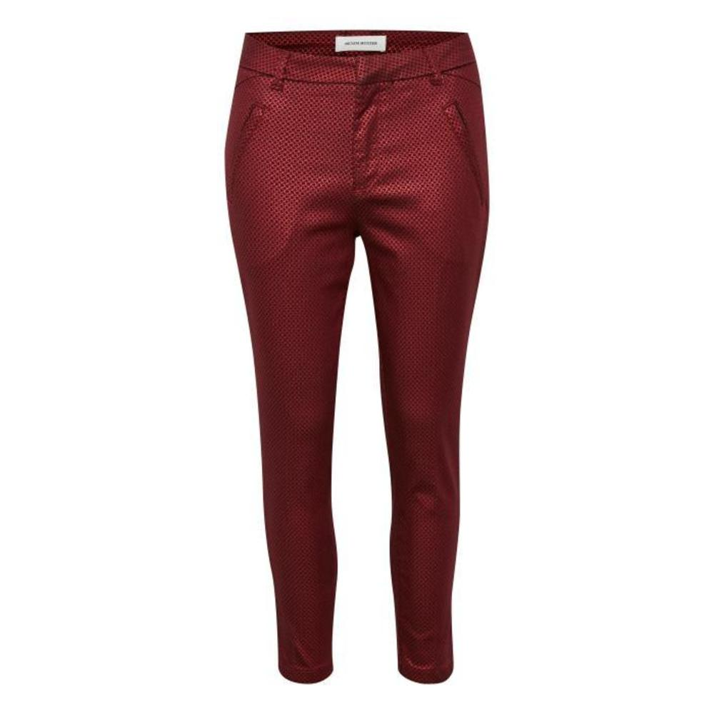 Clara pant red - Denim Hunter