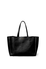 Shopper leather with brass details
