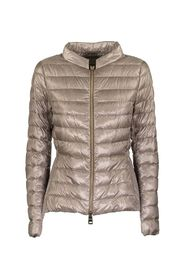 down jacket and technical taffeta