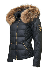 DOWNJACKET REAL FUR