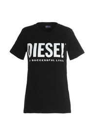 Diesel T-shirts and Polos Black