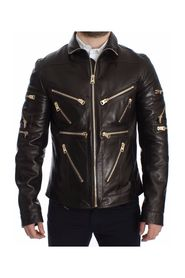 Leather Zipper Jacket