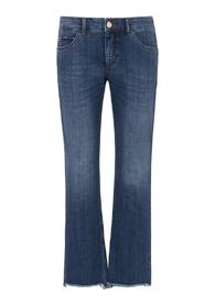 Blå Jeans Mac Easy Kick Cut Out Bukse