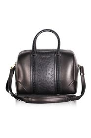 Lucrezia Medium Calfskin and Ostrich Leather Bag