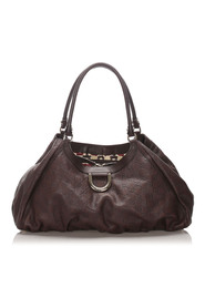 Pre-owned Guccissima Abbey D-Ring Shoulder Bag