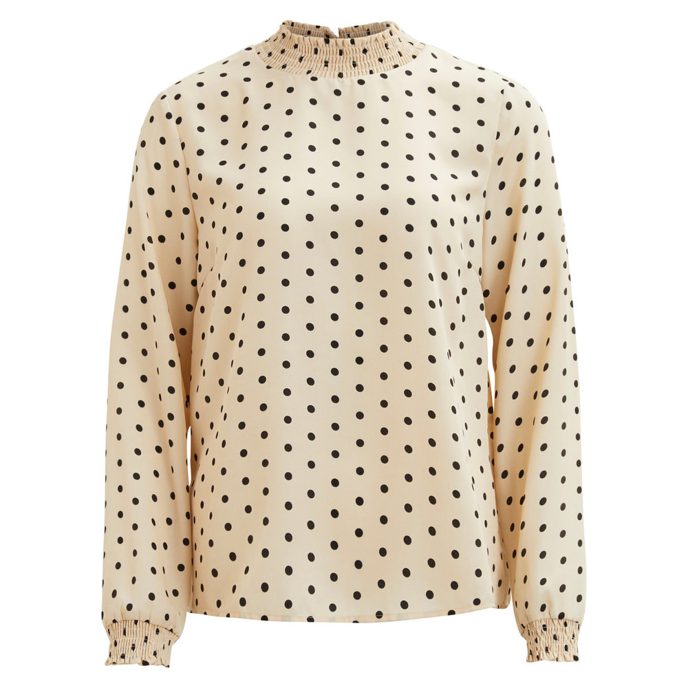 Long Sleeved Top Dotted