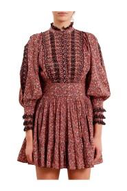 Slub Mini Dress
