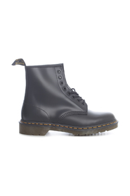 1460 SMOOTH BLACK 8 EYE Z WELT ANKLE BOOTS
