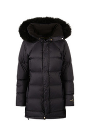 Blå Fleicher Couture Polaris Down Coat Yttertøy
