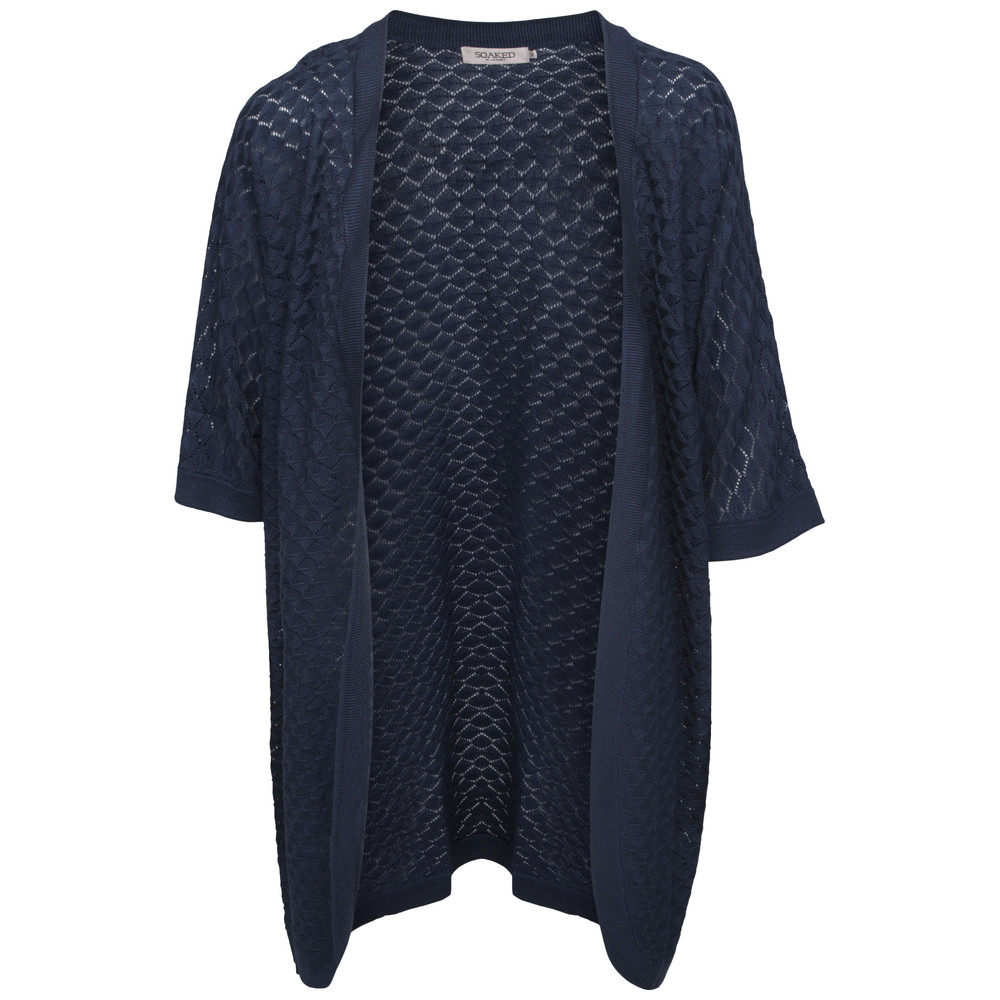 Soaked in Luxury Rover Cardigan Blå