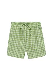 Tweed houndstooth shorts