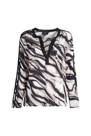 405327 blouse animal print