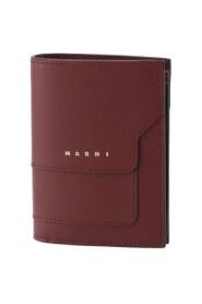 Logo-Print Leather Wallet