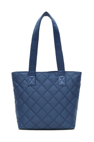 Edel Navy Quilt Nylon Shopper