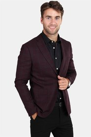 Selected Slim-Chasen Blazer Bitter Chocolate