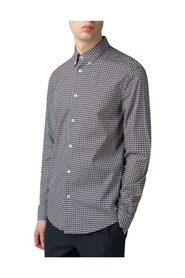 Long Sleeve Foulard Print Shirt