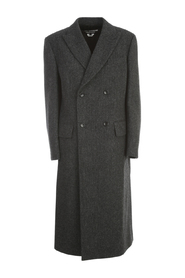 WOOL CASHMERE DOUBLE BREASTED COAT
